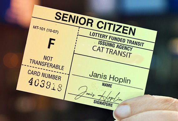 senior bus card