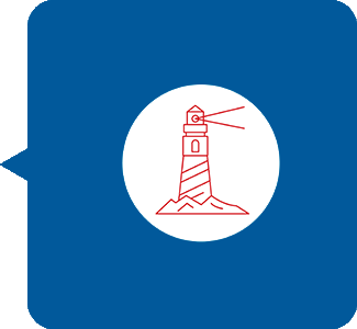 icon w/ lighthouse